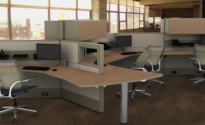 New Cubicles Used Cubicles  Refurbished Cubicles by